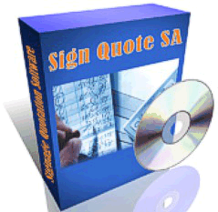 Sign Quote SA Software Box